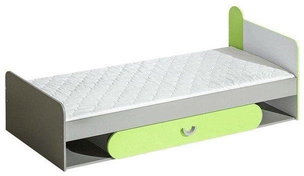 postel s úložným prostorem FILIP 13, zelená