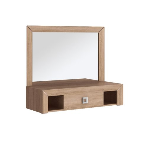 STOLLECH Toaletní stolek HANA 19, dub sonoma 100 x 42 x 90 Sonoma dub / Sonoma dub