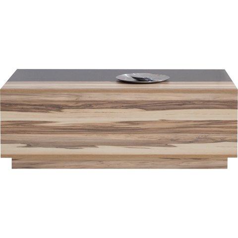 MEBLAR konferenční stolek MYLO 14 120x43x70 černá / ořech baltimore
