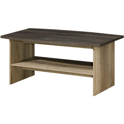 DOLMAR konferenční stolek RUBEN 12 120x55x70 dub canyon / arusha