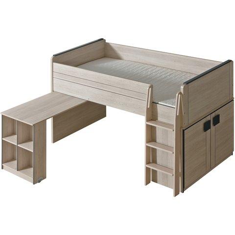 vyvýšená postel s psacím stolem GULIVER 15