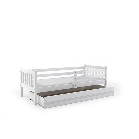 BMS Dětská postel s úložným prostorem CHARLIE 1 bílá